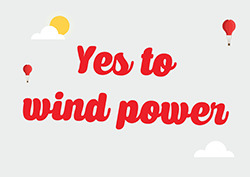 Yes to Wind Power