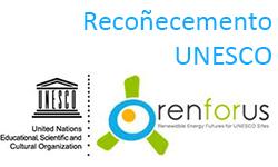 Recoñecemento RENFORUS – UNESCO 2014