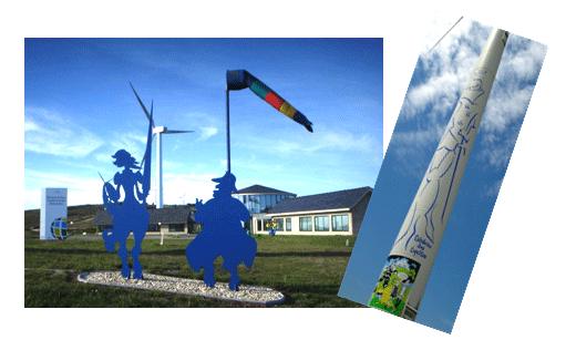 O Quixote e o vento
