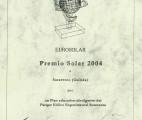 Diploma Eurosolar 2004