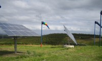 Installation of photovoltaic solar trackers