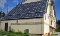 Instalación de placas solares fotovoltaicas fixas