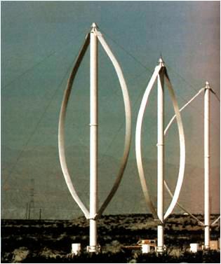 Aerogenerador de eje vertical