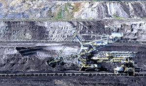 Máquina de extracción de carbón